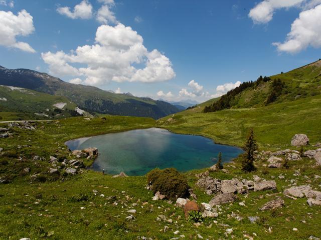 Lac des Fées.