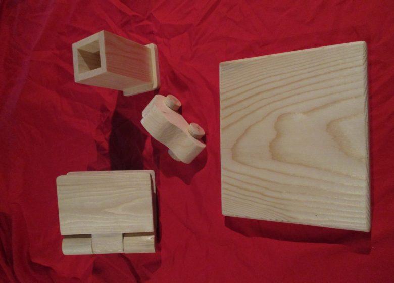 Atelier décoration d'objets en bois
