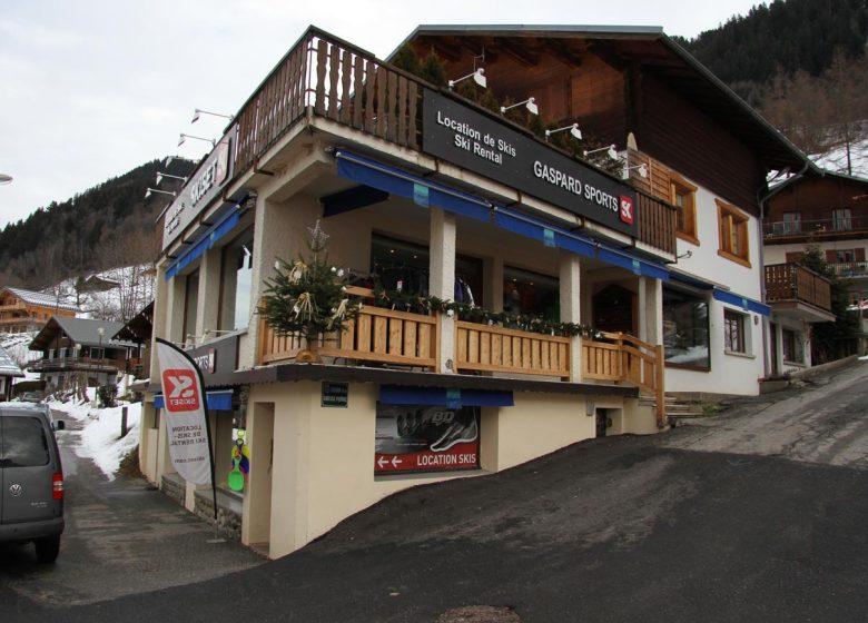 Gaspard Sport Skiset 3  Arêches