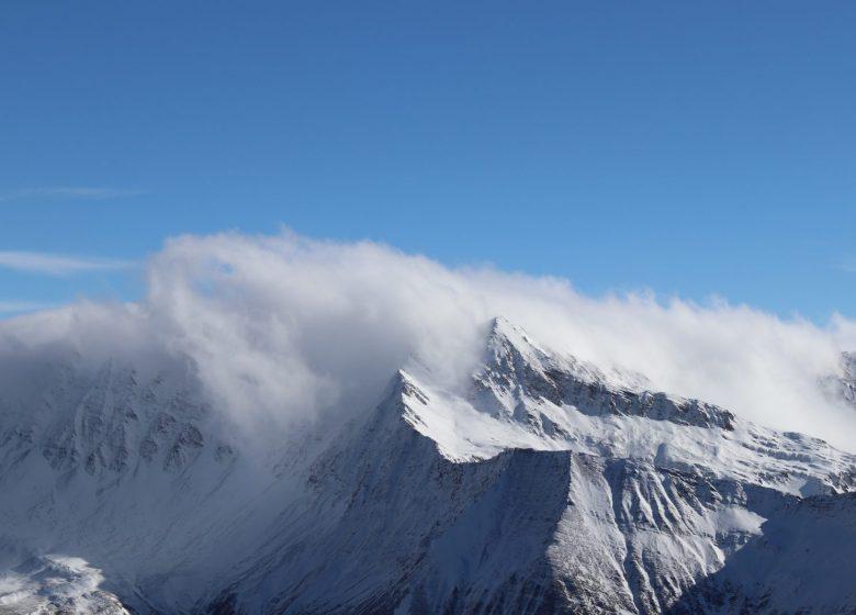 Alpinisme : ascension du Dôme de neige des glaciers (3592m), 2 jours
